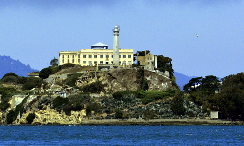 Alcatraz Island, a historic landmark open to the p