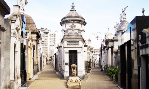 The Cementerio de la Recoleta
