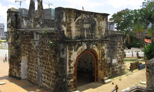 Porta de Santiago or Fort A